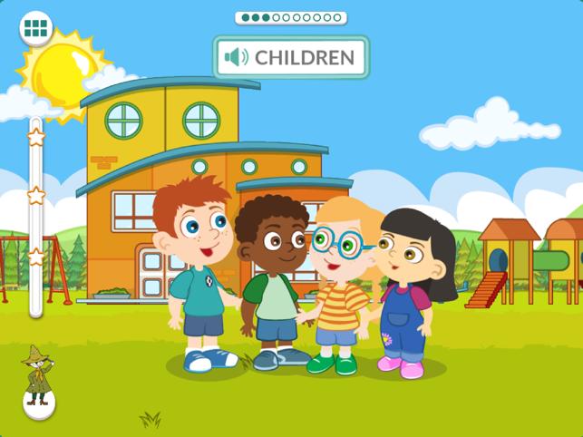 姆明语言学校app下载用户界面预览